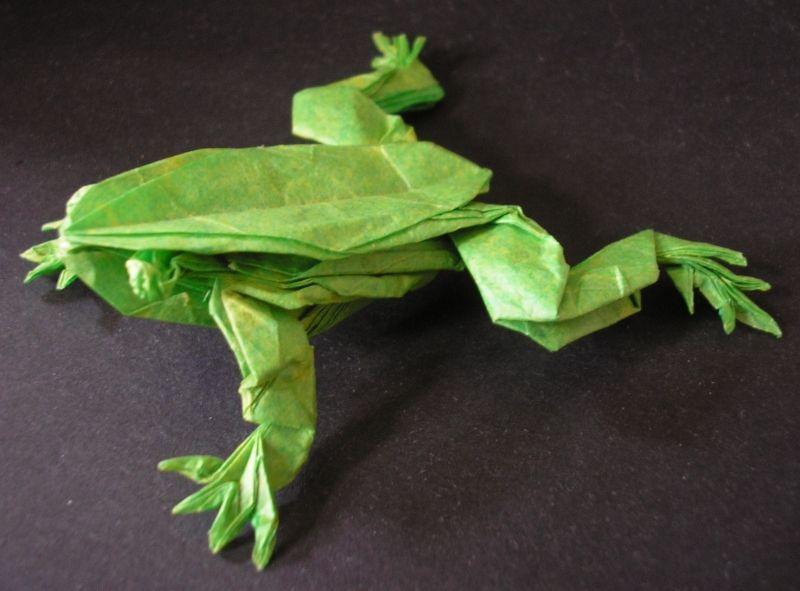 Origami Songbird 1 (Robert J. Lang) - not a tutorial - YouTube | 591x800