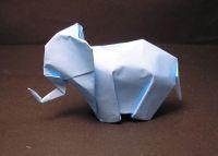 elefant falten origami anleitung. Black Bedroom Furniture Sets. Home Design Ideas